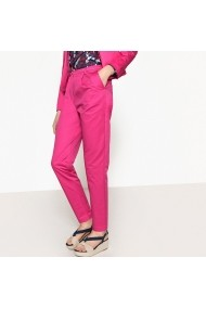 Pantaloni skinny La Redoute Collections GEF102 fuchsia