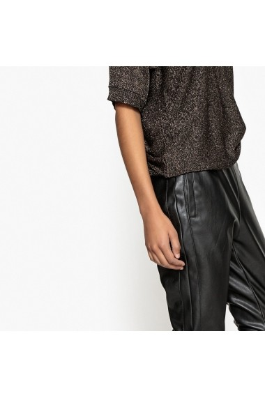 Pantaloni slim La Redoute Collections GEJ043 negru
