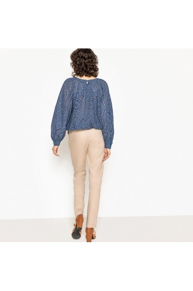 Pantaloni drepti La Redoute Collections GEL857-beige Bej
