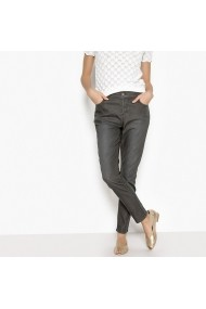 Pantaloni slim La Redoute Collections GEL866 Gri