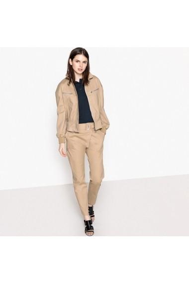 Pantaloni largi La Redoute Collections GEL873 bej - els