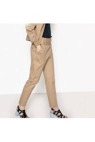 Pantaloni largi La Redoute Collections GEL873 bej