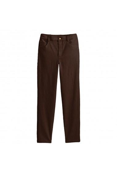 Pantaloni La Redoute Collections GGP613 maro - els