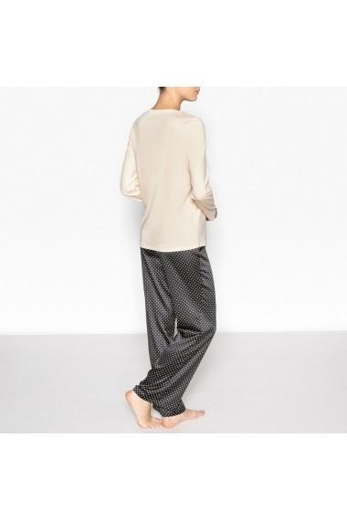 Pijama La Redoute Collections GDW629 negru - els