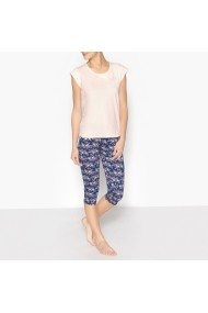 Pijama La Redoute Collections GDZ307-pink-blue Roz