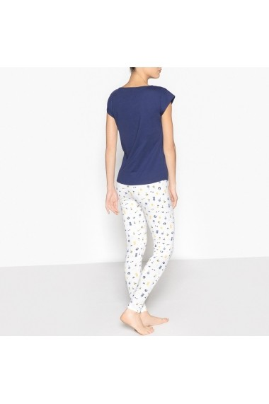 Pijama La Redoute Collections GDZ357 bleumarin - els