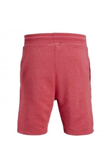 Pantaloni scurti Jack & Jones GES367 rosu