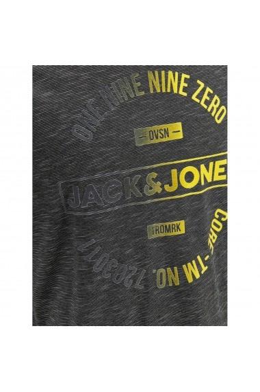 Tricou JACK & JONES GGX592 negru