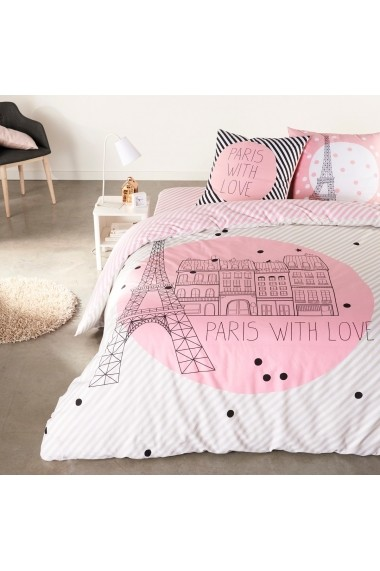 Cearsaf SELENE & GAIA GBP734 90x190 cm roz