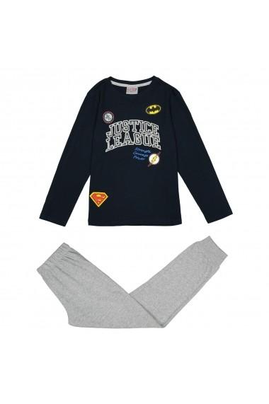 Pijama Justice League GEJ152 bleumarin