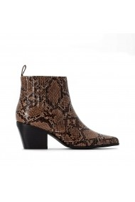 Botine LA REDOUTE COLLECTIONS PLUS GGU896 animal print