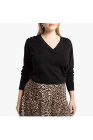 Pulover LA REDOUTE COLLECTIONS PLUS GGO704 negru