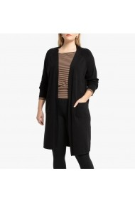 Cardigan LA REDOUTE COLLECTIONS PLUS GGO702 negru