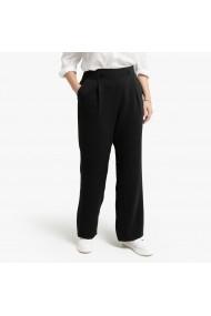 Pantaloni LA REDOUTE COLLECTIONS PLUS GGR840 negru