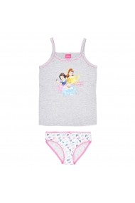 Set maiou si slip Disney Princess GEM350 gri