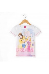 Tricou Disney Princess GCW276 alb