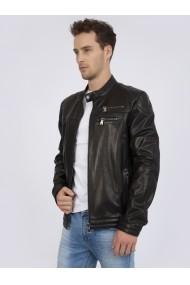 Jacheta din piele Sir Raymond Tailor SI2053841 negru