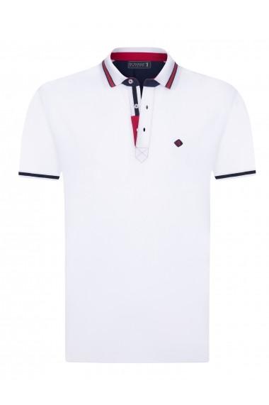 Tricou Polo Sir Raymond Tailor SI5183330 Alb