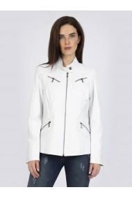 Jacheta din piele Sir Raymond Tailor SI4187504 alb
