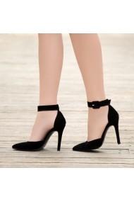 Pantofi cu toc DELISIYIM Cayna Negru - els
