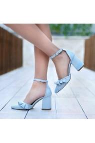 Pantofi cu toc DELISIYIM Likes Albastru