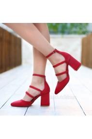 Pantofi cu toc DELISIYIM Rovi Rosu