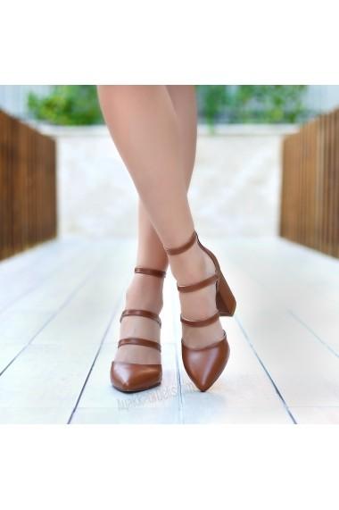 Pantofi cu toc DELISIYIM Rovi Maro - els