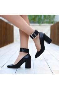 Pantofi cu toc DELISIYIM Pozef Negru