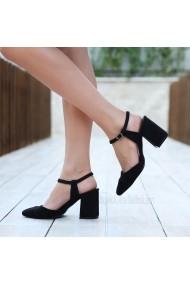 Pantofi cu toc DELISIYIM Vanni Negru