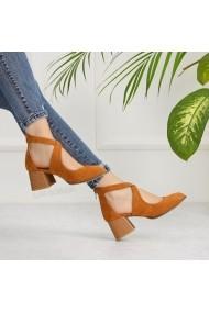 Pantofi cu toc DELISIYIM Atiza Bej