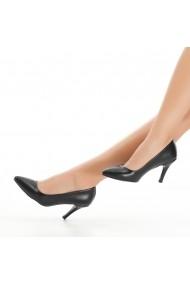 Pantofi cu toc DELISIYIM Sani Negru