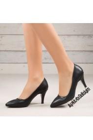 Pantofi cu toc DELISIYIM Lali Negru - els