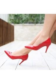 Pantofi cu toc DELISIYIM Sani Rosu