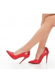 Pantofi cu toc DELISIYIM Liniya Rosu