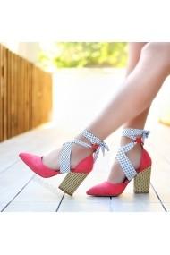Pantofi cu toc DELISIYIM Bevgi Roz