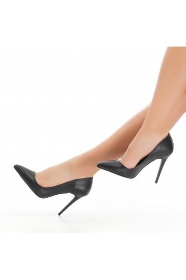 Pantofi cu toc DELISIYIM Simras Negru - els