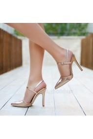 Sandale cu toc DELISIYIM Haruma Bronz