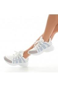 Pantofi sport casual DELISIYIM Rota Alb
