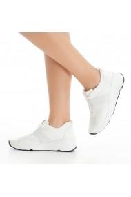 Pantofi sport casual DELISIYIM Fogna Alb