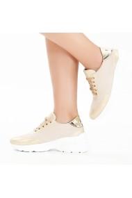 Pantofi sport casual DELISIYIM Koba Bej