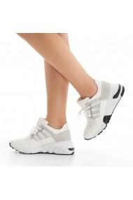 Pantofi sport casual DELISIYIM Virfo Alb