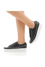 Pantofi sport casual DELISIYIM Rovet Negru