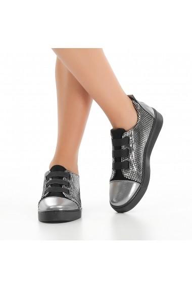Pantofi sport casual DELISIYIM Orep Argintiu - els