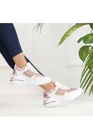 Pantofi sport casual DELISIYIM Kore Alb