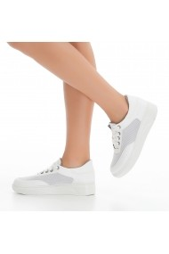 Pantofi sport casual DELISIYIM Laras Alb