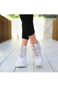 Pantofi sport casual DELISIYIM Gizmo Alb