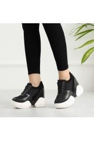 Pantofi sport casual DELISIYIM Gopana Negru