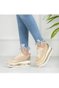 Pantofi sport casual DELISIYIM Kapol Auriu