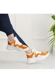 Pantofi sport casual DELISIYIM Kosala Portocaliu
