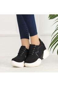 Pantofi sport casual DELISIYIM Mugala Negru
